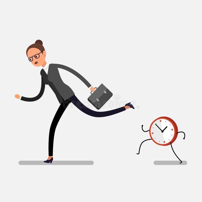 Принципиальная схема контроля времени иллюстрация штока