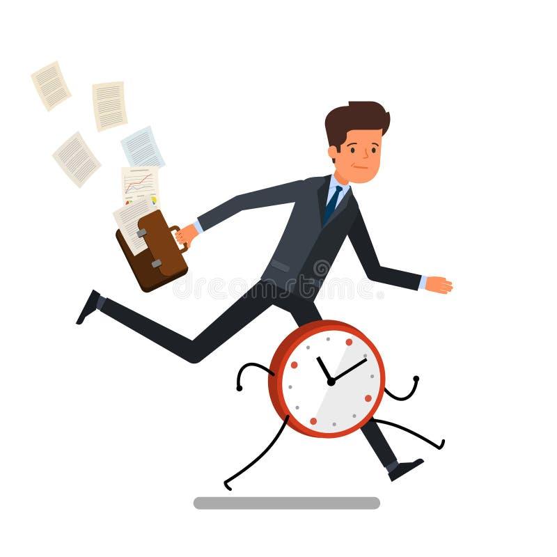 Принципиальная схема контроля времени бесплатная иллюстрация
