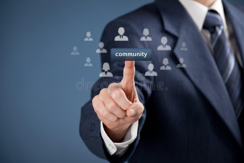 Принципиальная схема общины