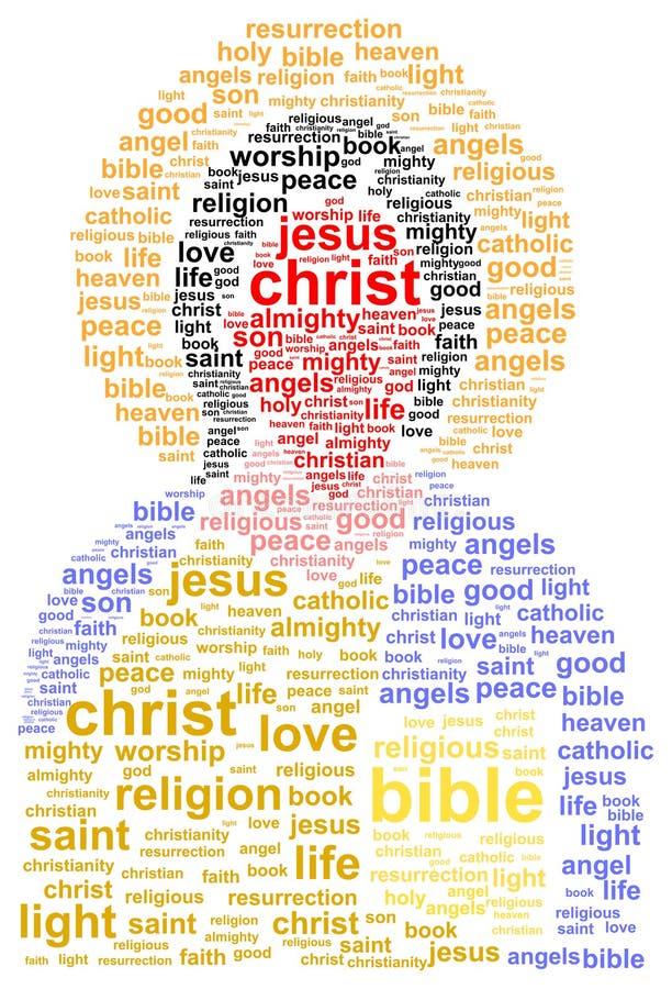 Иисус Христос иллюстрация штока