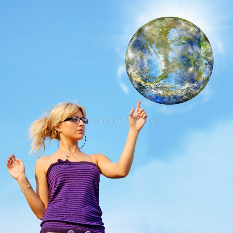 Принципиальная схема экологичности стоковые фото