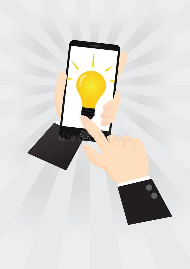 Принципиальная схема Smartphone бесплатная иллюстрация