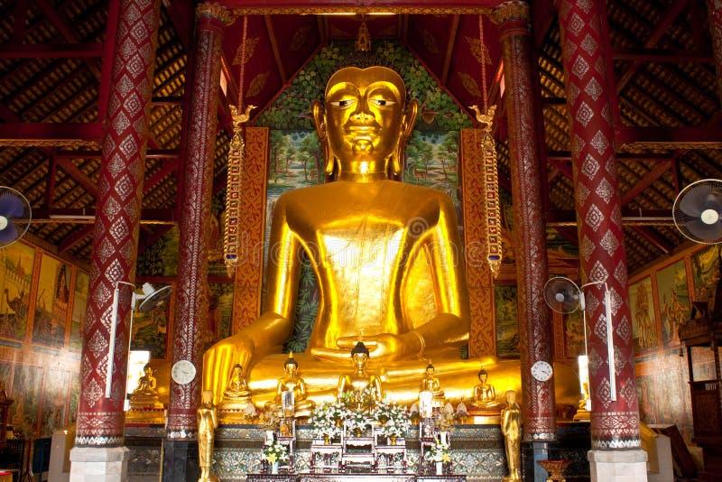 принцип изображения Будды золотистый стоковая фотография rf