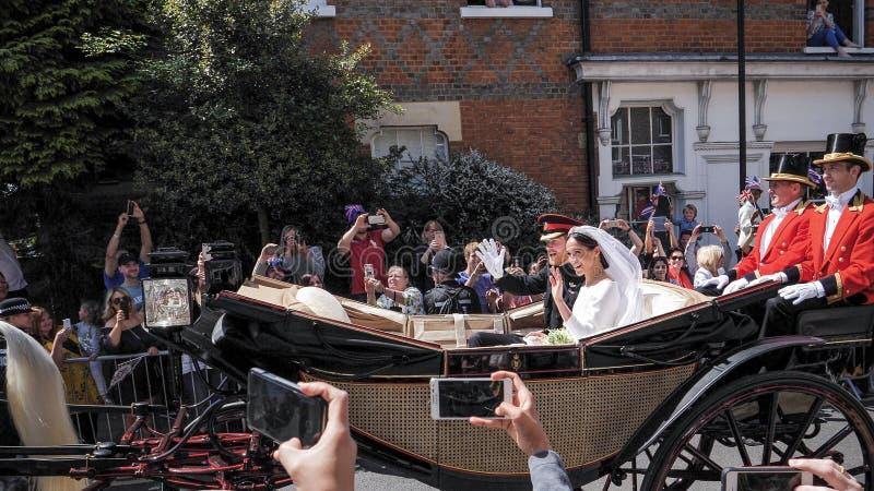 Принц Гарри, герцог Сассекс и Meghan, Duchess разрешения Сассекс стоковое фото rf