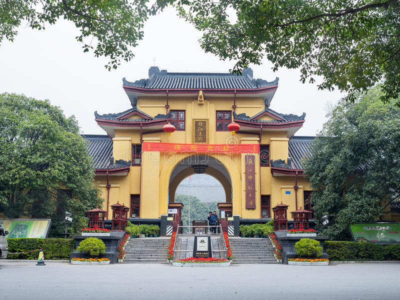 Принц Город Jingjiang, Guilin стоковые фото