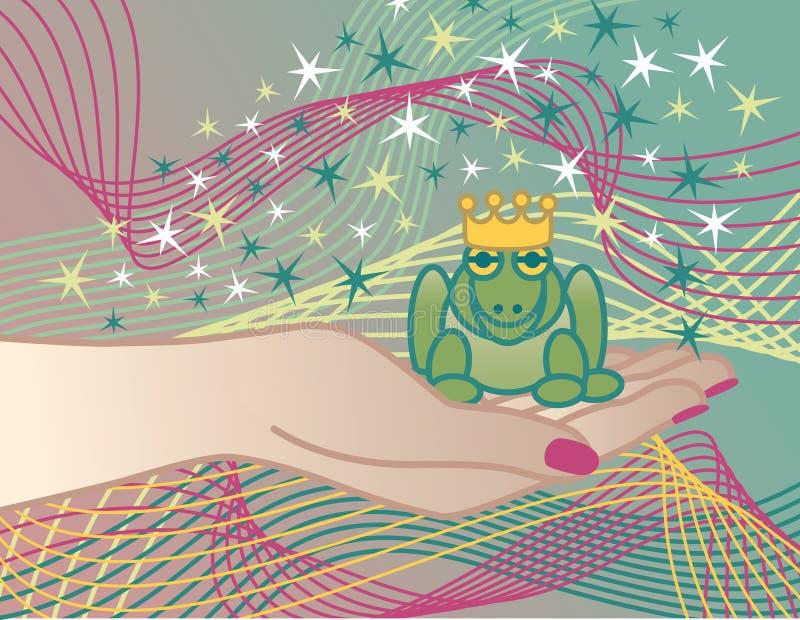 принц лягушки бесплатная иллюстрация