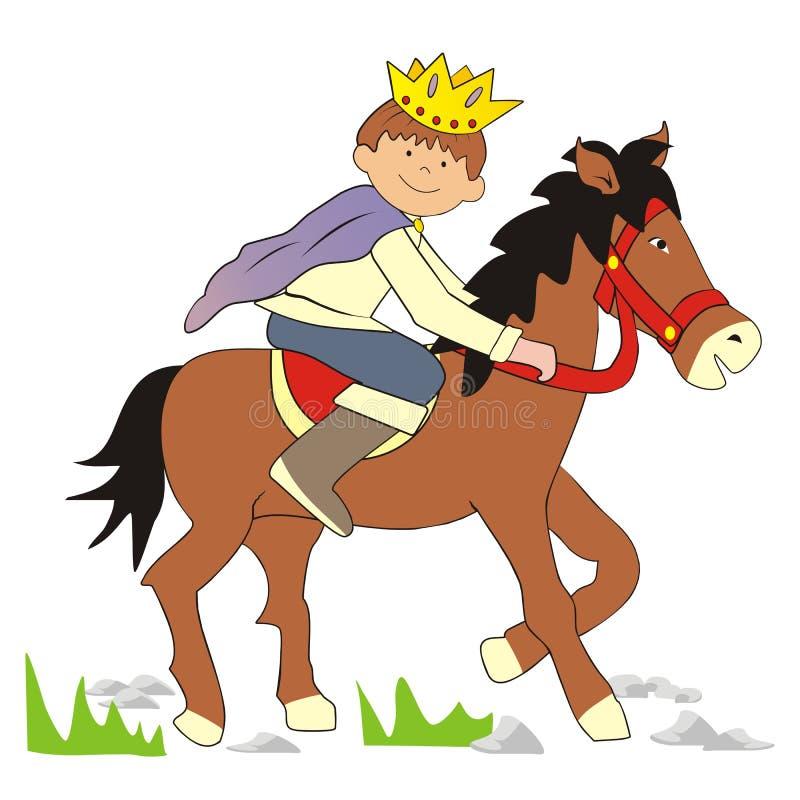 Принц иллюстрация вектора