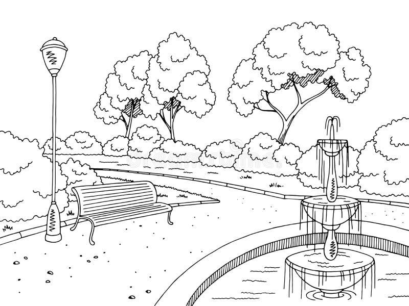 рисунок фонтана в парке карандашом интервью артистка