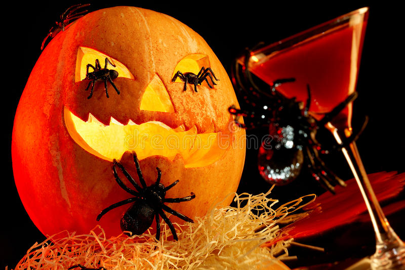 приписывает halloween стоковое изображение rf