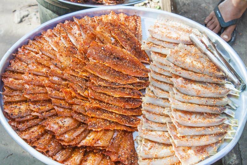 приправленные рыбы стоковое изображение