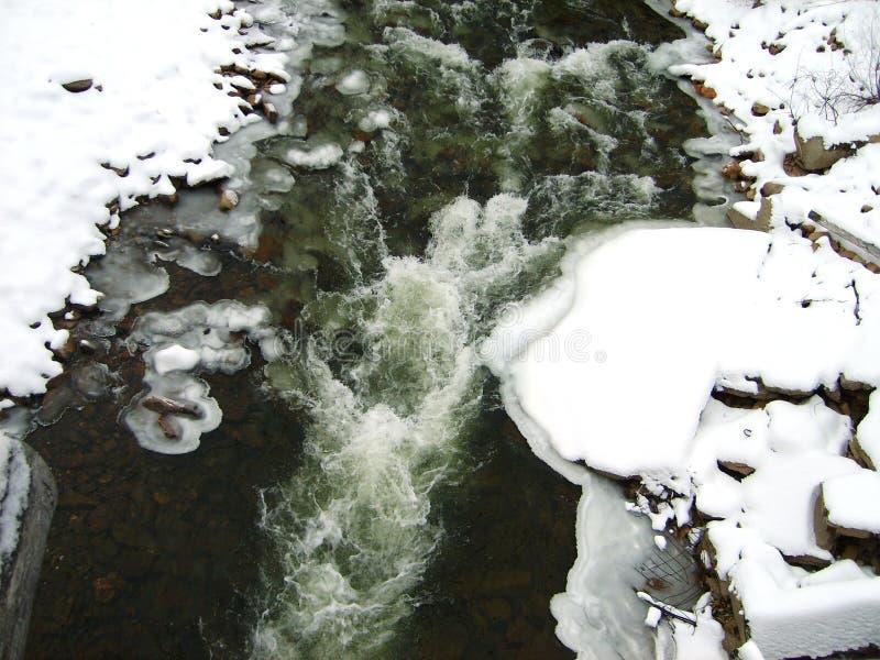Природа в реке области Иркутска стоковая фотография