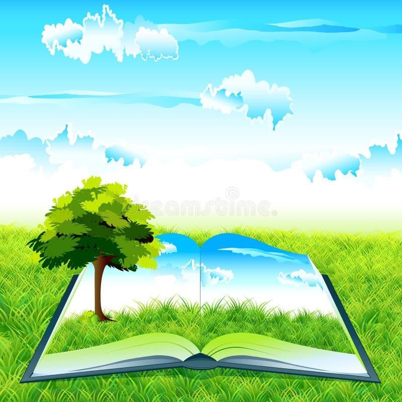 природа книги бесплатная иллюстрация