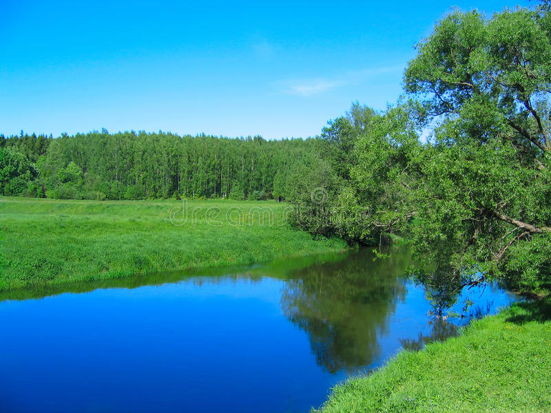 природа ландшафта предпосылки сельская стоковые изображения rf