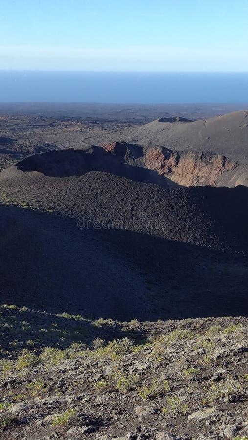 природа панорамы ландшафта канерейок Тенерифе стоковые фотографии rf
