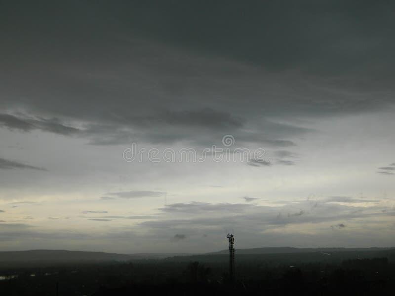 Природа подготавливает шторм стоковая фотография