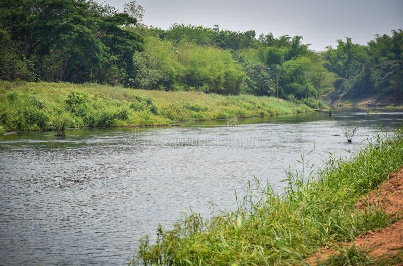 Природа Таиланд реки стоковое фото
