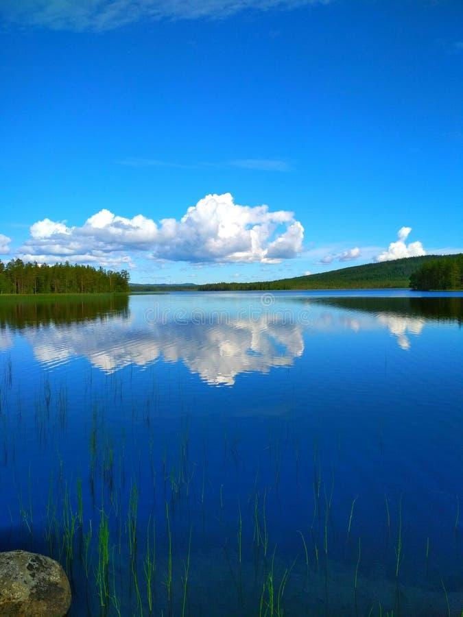 Природа Швеции стоковые изображения