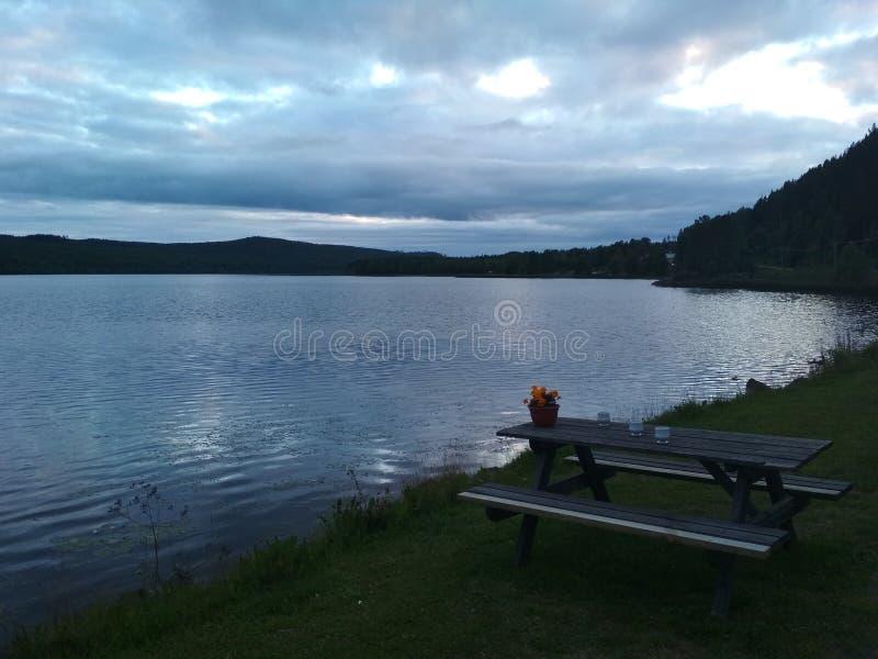 Природа Швеции стоковое фото rf