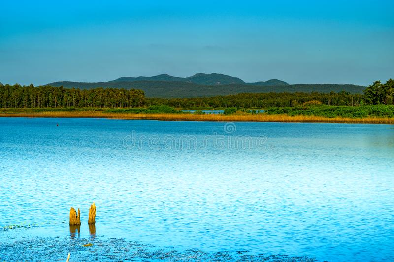 Природный вид в национальном парке Мае Пуэма стоковое изображение rf