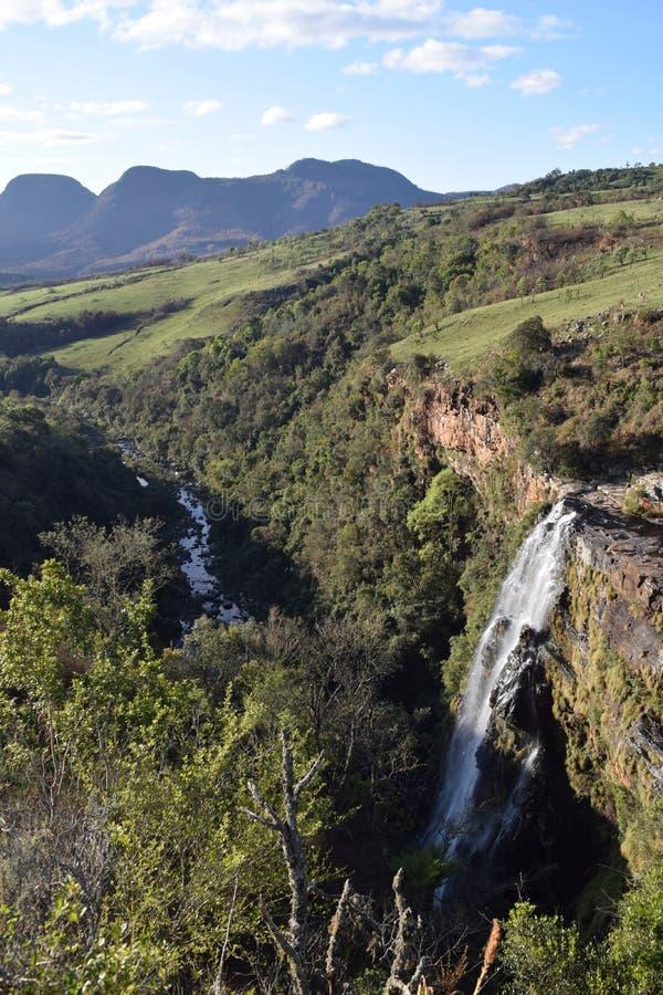 Природный заповедник реки Блайд в ЮАР стоковое фото rf