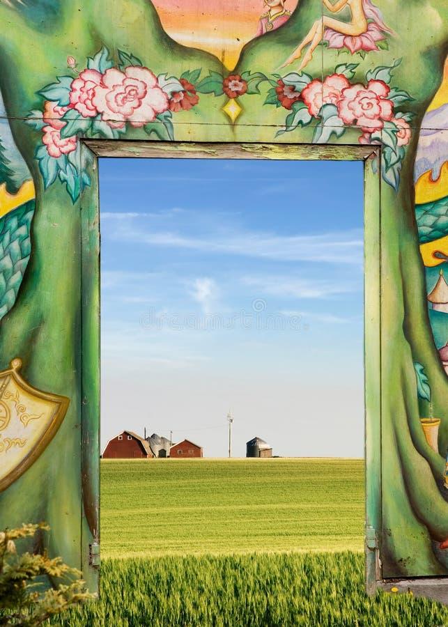 природы двери стоковое фото