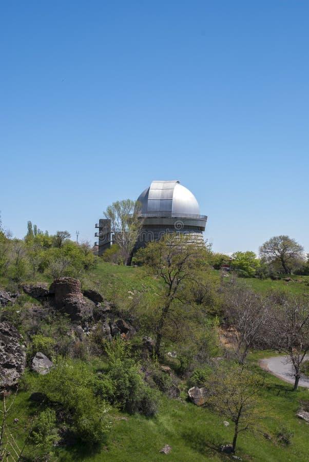 Природа в обсерватории Byurakan стоковые фотографии rf