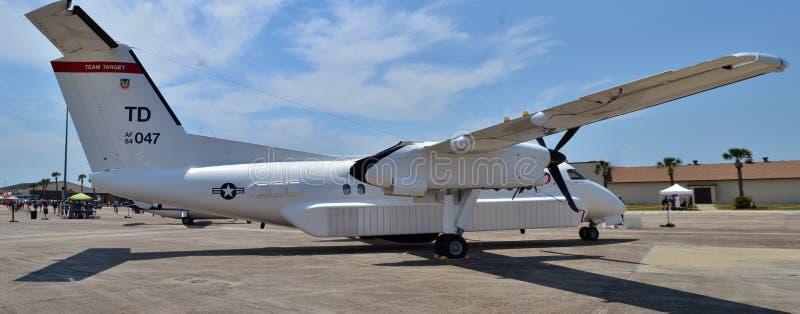 Приспособление военновоздушной силы E-9A стоковые фотографии rf