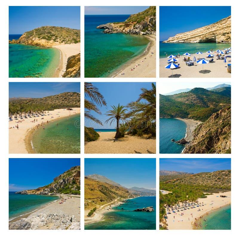 приставает Крит к берегу стоковые изображения rf