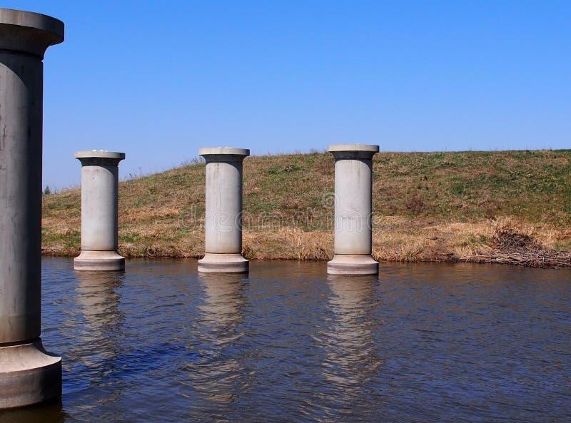 Пристани моста стоковое изображение