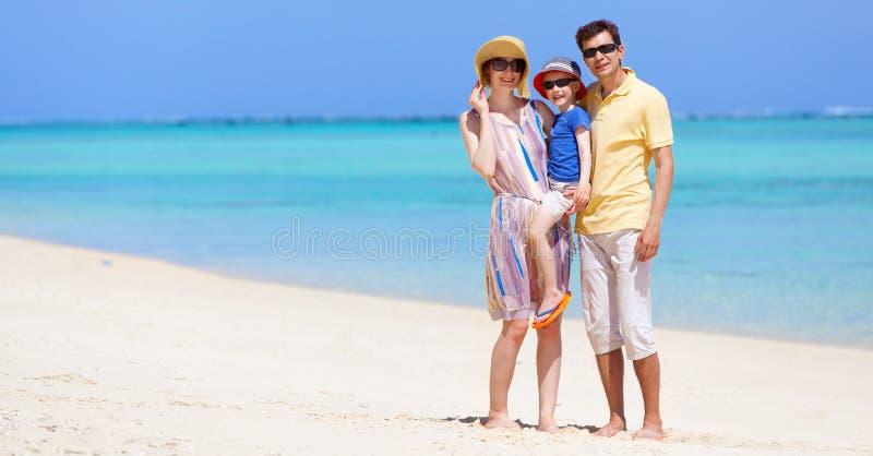 Download пристаньте детенышей к берегу тропической каникулы песка семьи 4 белых Стоковое Фото - изображение насчитывающей малыш, baxter: 40591960