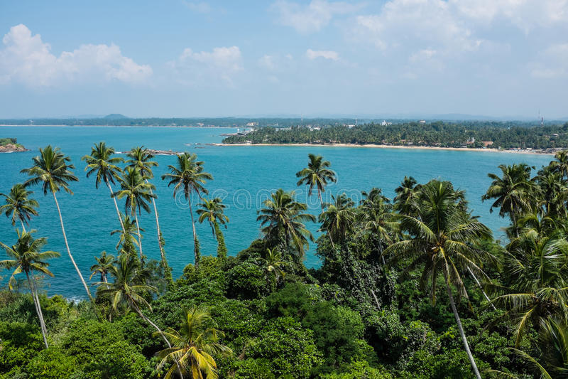 пристаньте индийский океан к берегу стоковая фотография