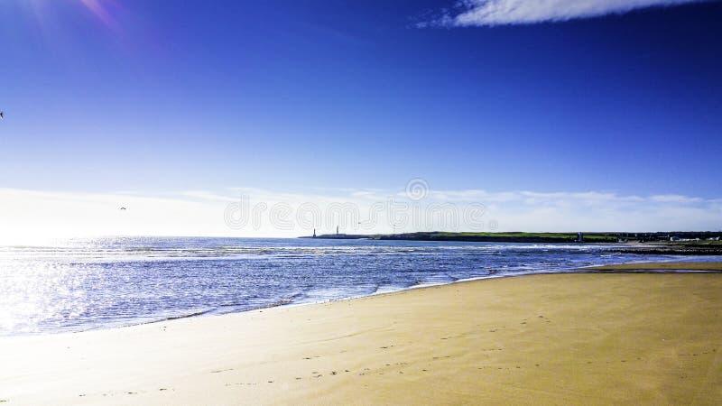 Пристаньте к берегу в утре стоковая фотография rf