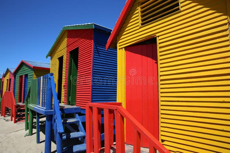 пристаньте st к берегу james Cape Town стоковое фото rf