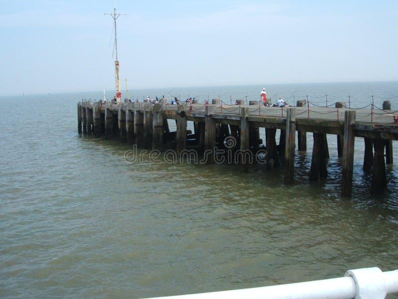 Пристань Англия Clacton стоковое фото rf