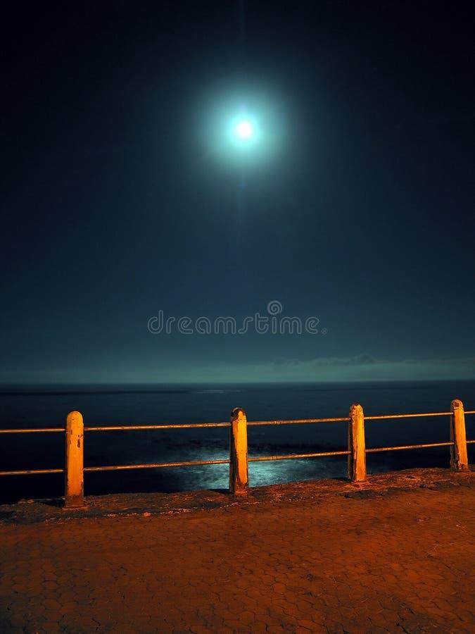 пристань ночи стоковое фото rf