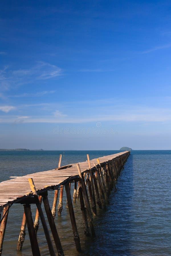 пристань океана стоковое фото