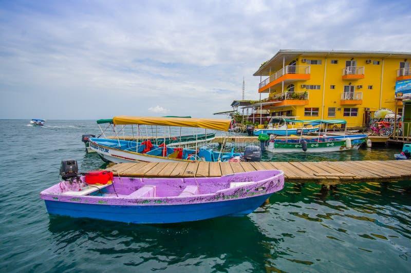 Пристань Панамы стоковые изображения rf