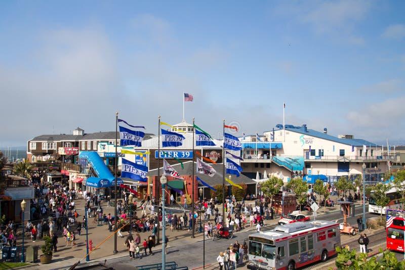 Пристань 39, San Francisco стоковые изображения rf