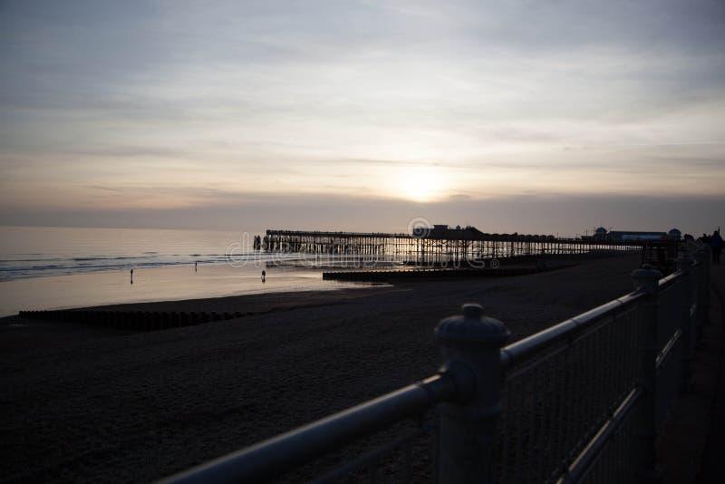 Пристань Hastings стоковая фотография
