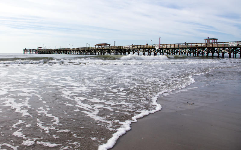 Пристань Myrtle Beach стоковые фото