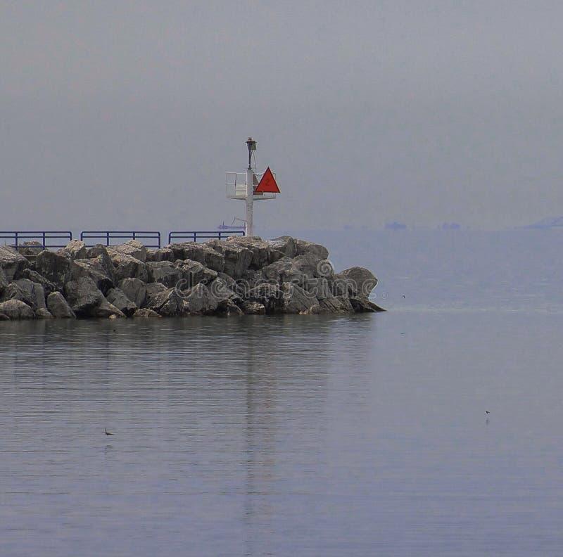 Пристань Pt Huron стоковая фотография