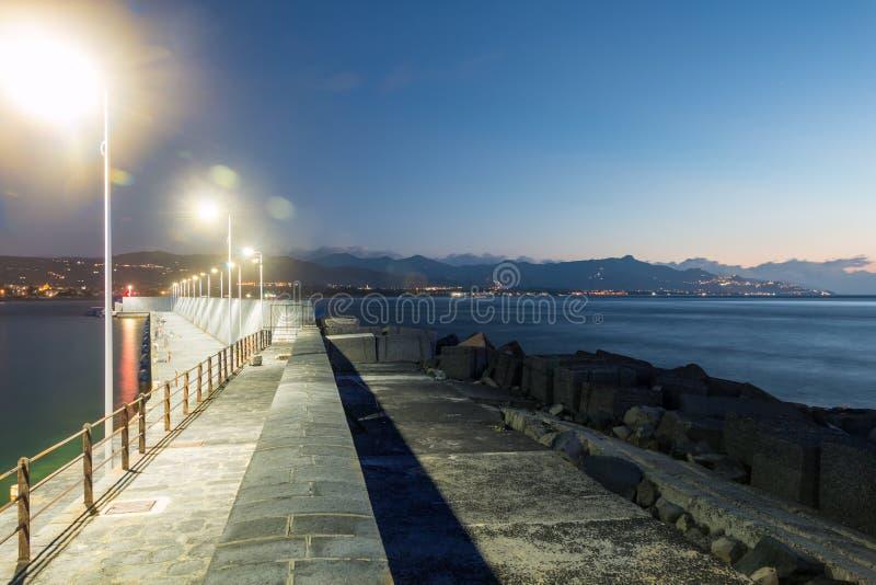 Пристань Riposto стоковое фото rf