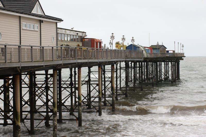 Пристань Teignmouth, Девон стоковая фотография