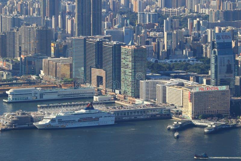 Пристань Tsim Sha Tsui паромный терминал стоковые изображения