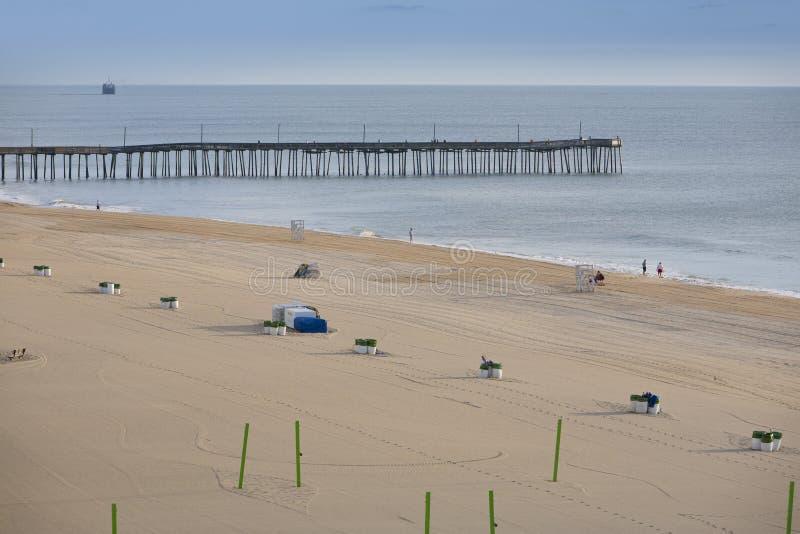 Пристань Virginia Beach стоковая фотография