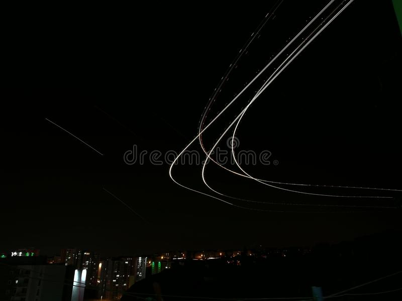 Притяжка неба стоковые изображения rf