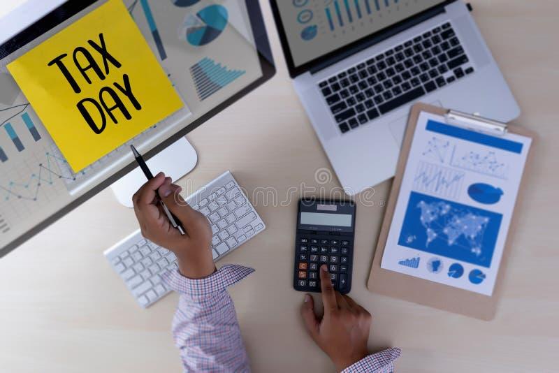 Приурочьте для обложения Busi финансового учета денег планирования налогов иллюстрация вектора