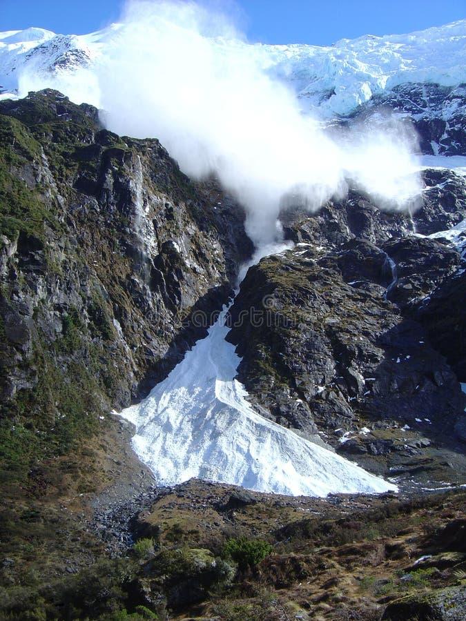 приходить лавины стоковое изображение rf