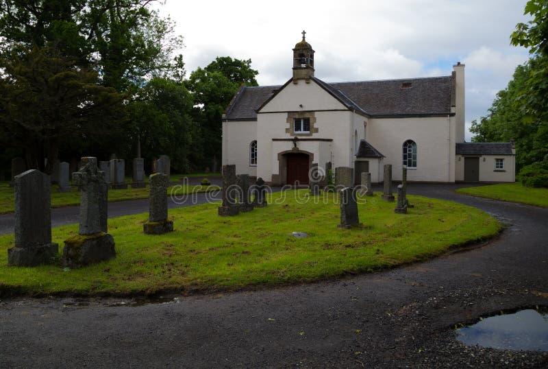 Приходская церковь Buchanan стоковое фото rf