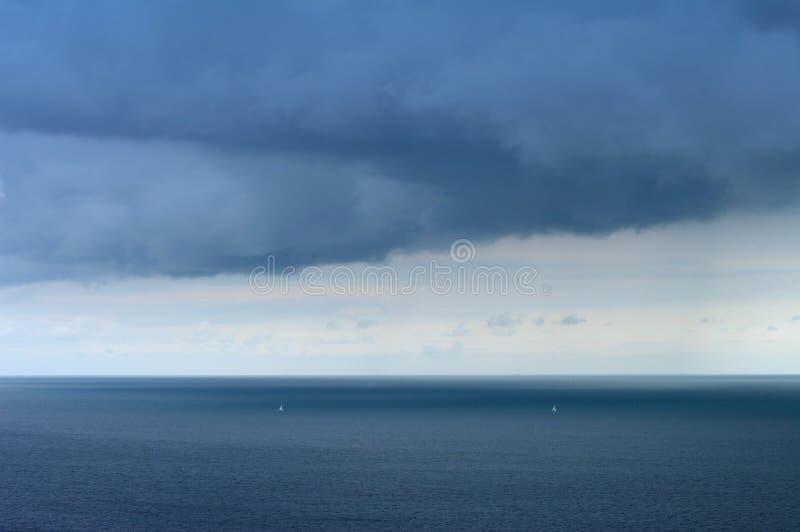 приходя дождь стоковые фотографии rf